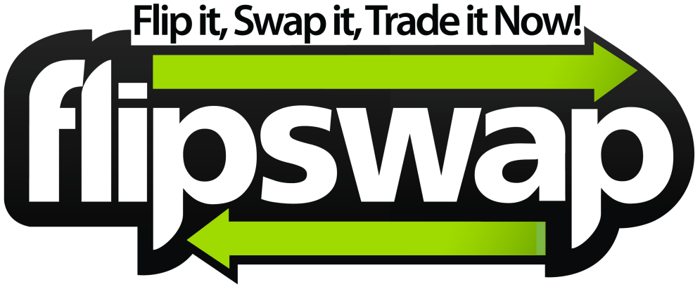 The redesigned Flipswap Logo.