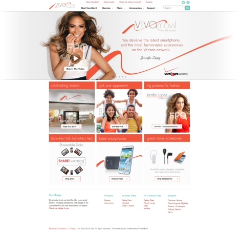 Viva Movil Launch Landing Page