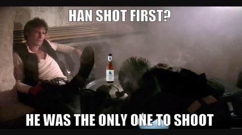 Einstok, the real reason behind Han shooting first.