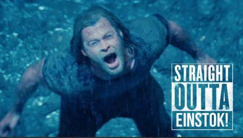 Thor ran out.